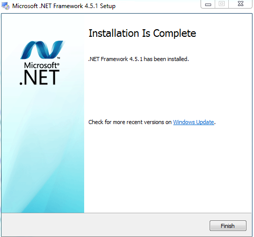 Download .NET Framework 4.5.1 Offline Installer