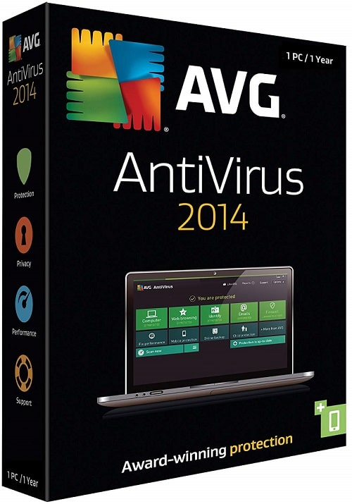Download AVG Antivirus 2014 With 1 Year Free License