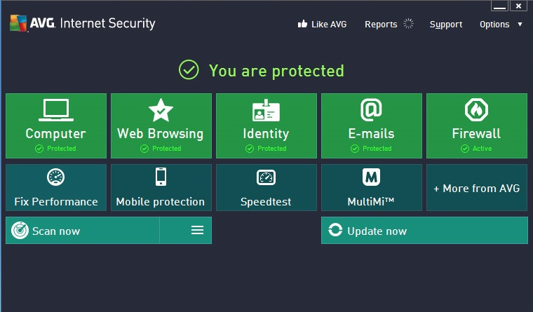Download AVG Internet Security 2014 With 1 Year Free License