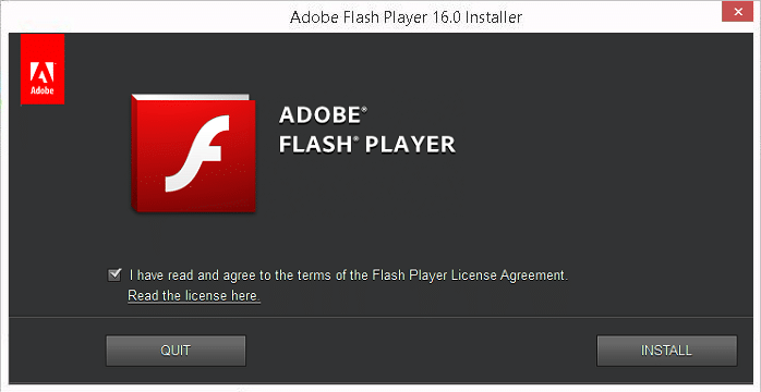 Download Adobe Flash Player 16 Offline Installers