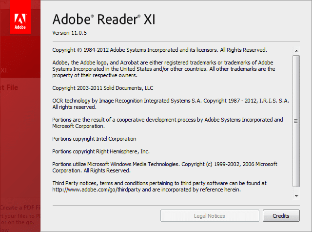 Download Adobe Reader XI (11.0.05) Offline Installers