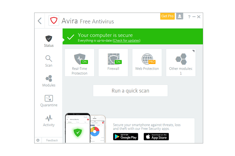 Download Avira 2018 Offline Installers