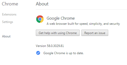 Download Google Chrome 58 Offline Installers