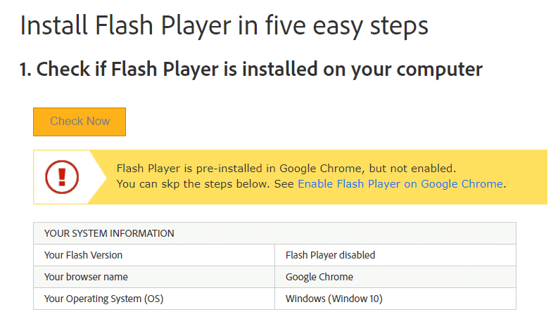 Windows 10 flash player pre installed | adobe flash player