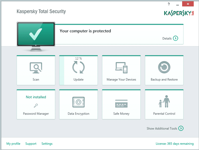 Download Kaspersky 2017 Total Security Offline Installers
