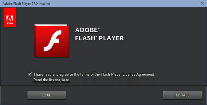 Download Adobe Flash Player 17 Offline Installers