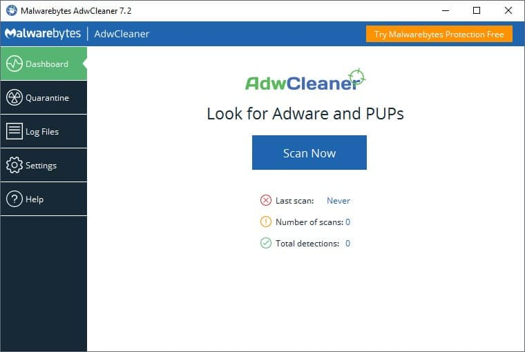 Download AdwCleaner 7.2.4.0