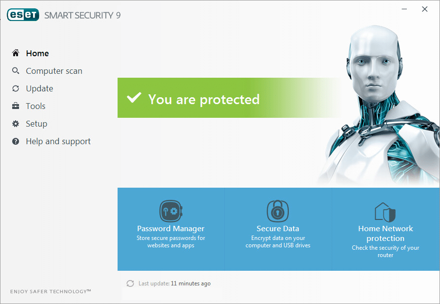 Error downloading update file in eset endpoint security or eset.