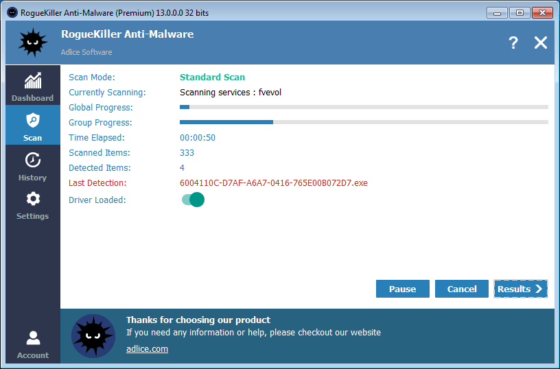 Download Rogue Killer 13.0.6.0