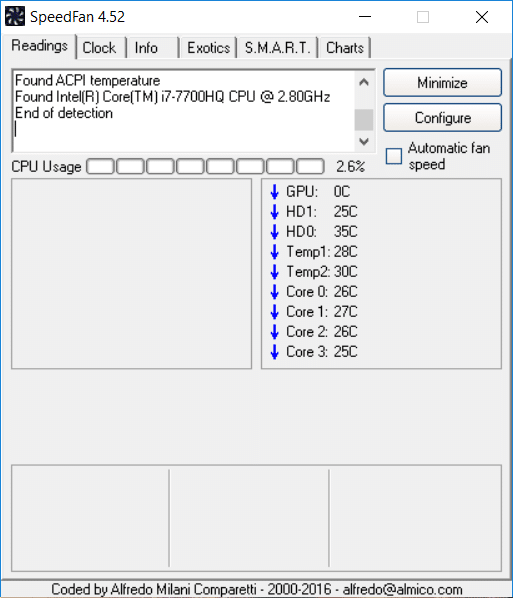 SpeedFan 4.52 Free Download