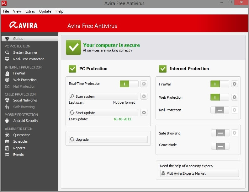 download panda antivirus free offline installer