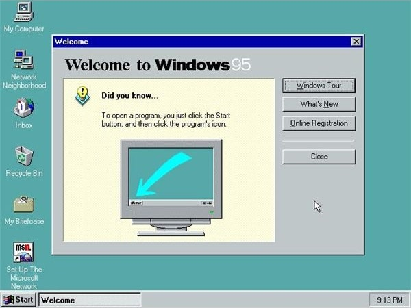 Download Windows 95 ISO