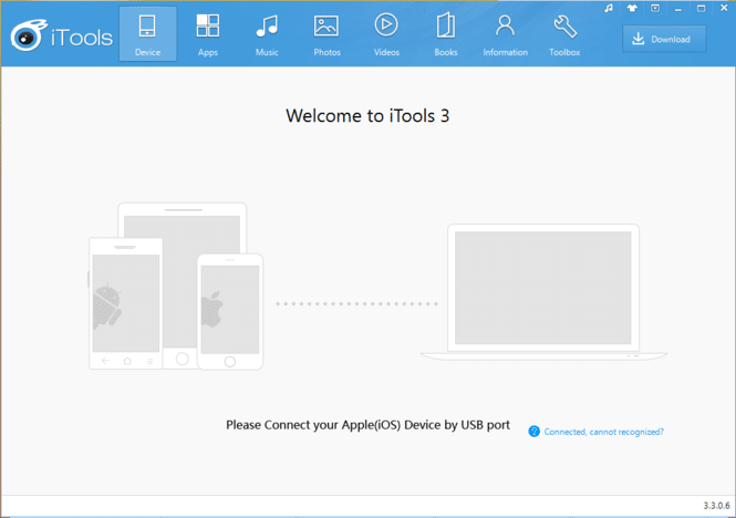 Download iTools For Windows and Mac (Version 4.4.5.8)